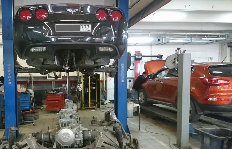 Ремонт автоматических коробок передач